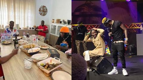 Stonebwoy And Shatta Wale Hold Dinner After Clash – PHOTOS