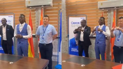 Stonebwoy Inks Ambassadorial Deal With Tecno Mobile – VIDEO