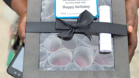 How Many of You Can Do This? Lady Gifts Boyfriend A Box Full Of Cash To Mark His Birthday