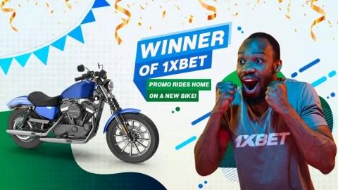 1xBet Presents New Motorbike To Hot Win Promo Winner