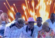 All the scenes from Shatta Wale's all-white birthday party with celebrities