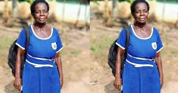 """Prez Akufo-Addo's 'Free SHS' policy forced me to go back to school"" – Elizabeth Yamoah, 57-year-old BECE graduate"