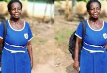 """""""Prez Akufo-Addo's 'Free SHS' policy forced me to go back to school"""" – Elizabeth Yamoah, 57-year-old BECE graduate"""