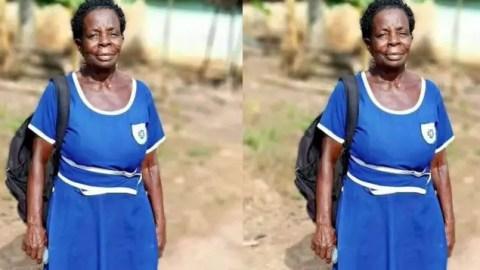 BECE Result Of 60-yr Old Ghanaian Woman, Elizabeth Yamoah Pops Up Online