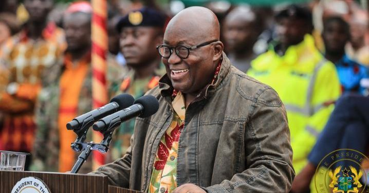 """""""Get ready to enjoy more free things when I win"""" – Akufo-Addo tells Ghanaians"""