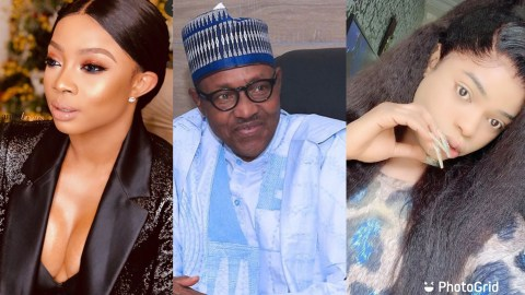 Bobrisky, Toke Makinwa And Others Threaten To Relocate After Buhari's Unexpected Speech