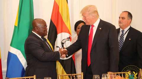 Ghanaians blast President Akufo-Addo for wishing President Trump and wife a speedy COVID-19 recovery