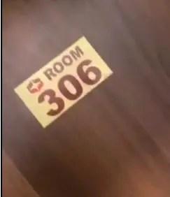 Hotel room 306