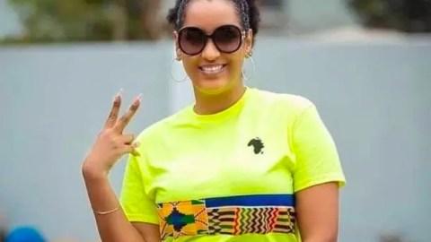 Actress Juliet Ibrahim Endorses Mahama's Second Coming