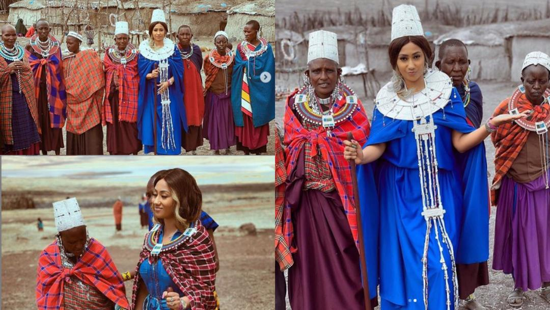 Hajia4real crowned queen in Tanzania