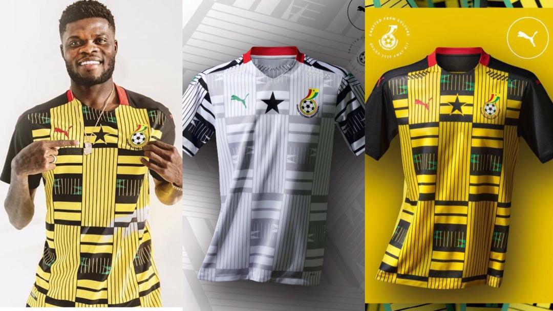 GFA unveils an all-new home and away kits for Black Stars