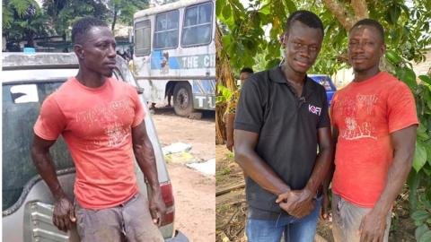 Act of valour: How a taxi driver rescued 17 people trapped under the Akyem Patabi church building collapse [Video]
