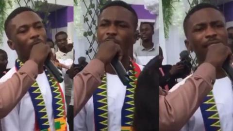 Clemento Suarez Gives A Standing Ovation Performance At His Marriage Ceremony With A Rap Freestyle