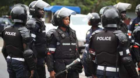 Video detailing how Ghana Police arrested three suspected robbers over Alabar robbery incident