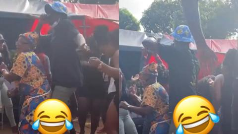Joey B Grinds Granny While Performing His Azonto Tune, Chokor Special – Video