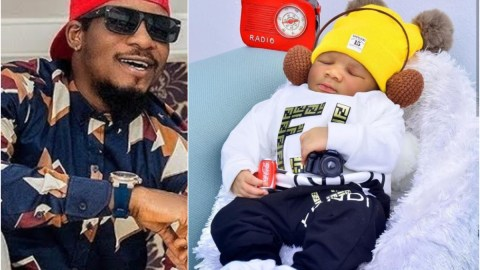 'Unto Us A Child Is Born'- Nollywood Actor, Junior Pope Says As He Announces The Birth Of His New Child- Photos