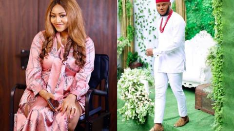 See Regina Daniels' Heartwarming Reaction After Her Former Boyfriend, Somadina Wished Her A Happy B'day