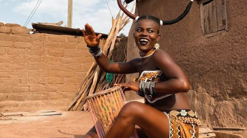 Wiyaala rescues 16-year-old JHS girl from early marriage attempt, gets culprit arrested