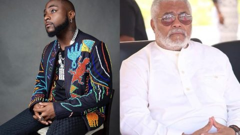 See Davido's Emotional Reaction to The Death Of Ghana's Former President Jerry Rawlings