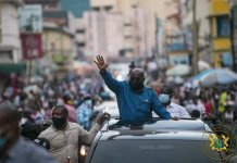 """""""Give me another four years to make Ghana better"""" – Prez. Akufo-Addo to Ghanaians"""