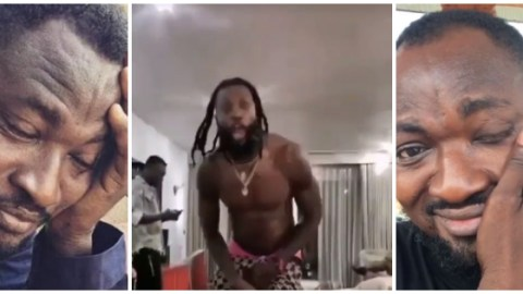 "Video: ""Wo Gyimie Nu"" – Adebayor Indirectly Fires Funny Face's Social Media Rants"