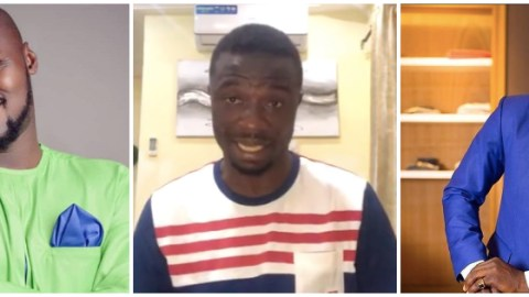 Video: Kwaku Manu gives the most sensible advice ever to Funny Face which has got Ghanaians clapping for him