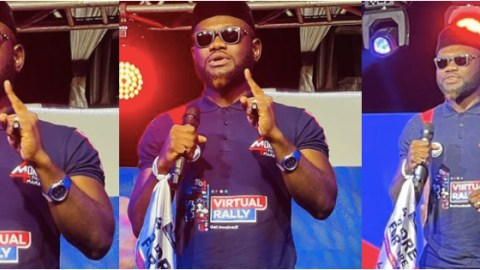 (+VIDEO) Don't Vote For The Violent NDC But Vote For The Peaceful NPP – Prince David Osei