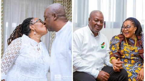"""""""Thank You For Making My Life Better""""- Lordina Writes Beautiful Message For Mahama's Birthday"""