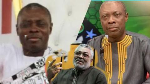 "Video: ""Don't Bury Me Where Atta Mills, Amissah Arthur Were Buried — Rawlings Told Osofokyiri Abosom Before His Death"