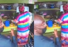 Bawumia uses QR code to buy 'waakye;' urges Ghanaians to start doing same