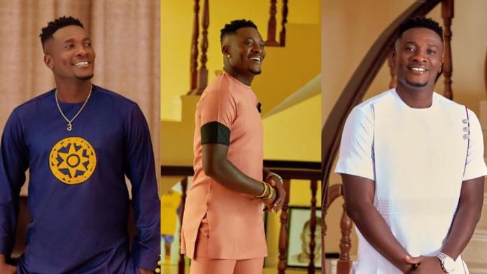 Asamoah Gyan reveals his true handsomeness in new photos as he turns 35 today