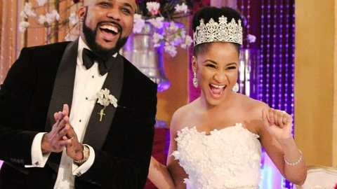 'Hello Fine Boy'- Adesua Gushes Over Husband, Banky W