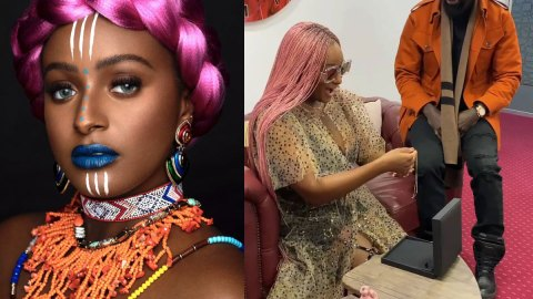 See The Funny Prayer Sister Of DJ Cuppy Said For Her On Her Birthday