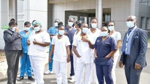 Prez Akufo-Addo extends COVID-19 incentive package for health workers until end of year