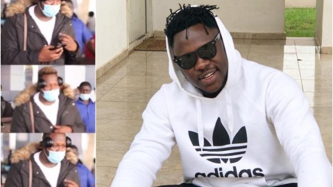 Watch The Moment Medikal Was Welcomed Like A President At The Kotoka Intl Airport Upon Arriving From The US