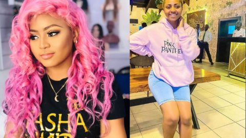 Regina Daniels Drinks Several Shots Of Tequila Whiles Partying With Some Male Friends- Video