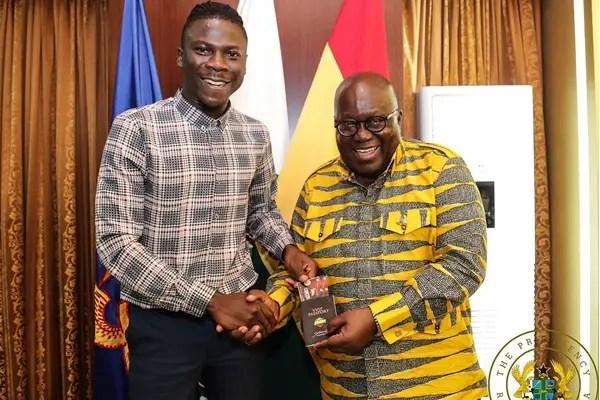 Stonebwoy congratulates President-elect Nana Akufo-Addo
