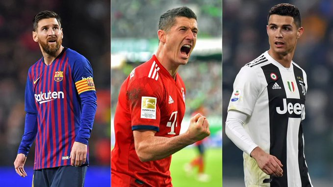 Ronaldo, Lewandowski, Messi named finalists for the Best FIFA Men's Player Awards 2020