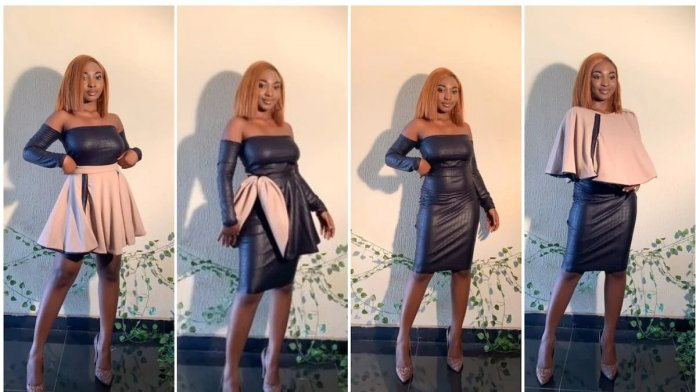 Popular designer makes another dress that can be worn in 5 different ways and styles [Photos]