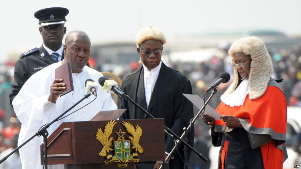 NDC will swear in Mahama as the next President