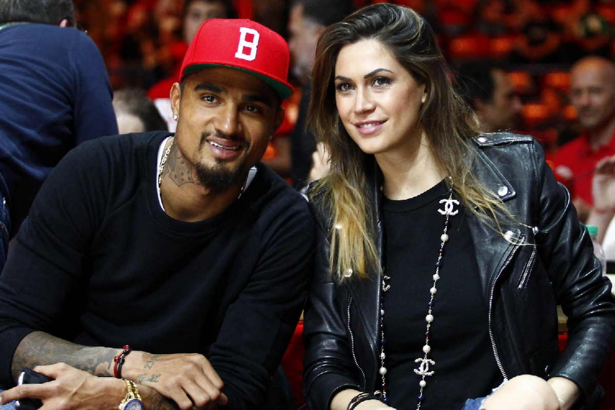 Kevin-Prince Boateng's second marriage with Melisa Satta ends in divorce