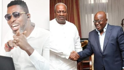 Kwame A Plus Declares The Winner For 2020 Election (+VIDEO)