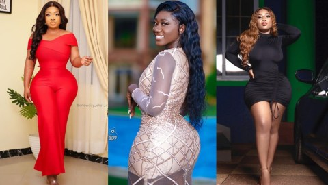 """""""Fake Or Not I Still Look Good"""" – Moesha Buduong Replies Critics Who Compared Her Fake Hips To Hajia Bintu's Natural Assets"""
