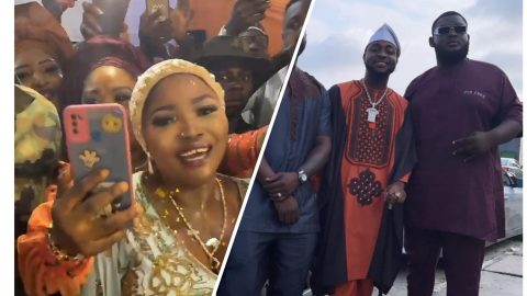 Man Of The People: Davido Serves As Best Man At Driver's Wedding As He Also Performs Music For Free- See Massive Reactions From Nigerians
