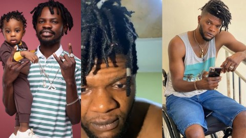 (+VIDEO) I'll Bury You And Your New Born Baby If You Don't Pay Me My 50,000 Dollars – Ogidi Brown Threatens Fameye