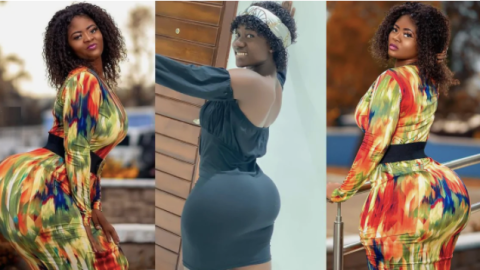 Photos: HARD Times For Hajia Bintu As Another Lady Pops Up With More Refreshing, Soft And Heavy Buttocks