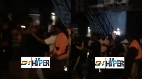 Davido And Burnaboy Reportedly Fight Inside Twist Night Club