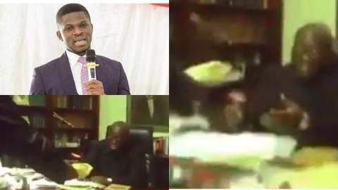 Ghana Election 2020: Sammy Gyamfi releases a video of President Akufo-Addo allegedly receiving a 'bribe'