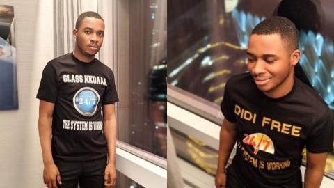 Twene Jonas To Give Out His T-Shirts To Ghanaians For Free After Netizens Blasted Him For Selling It At $35