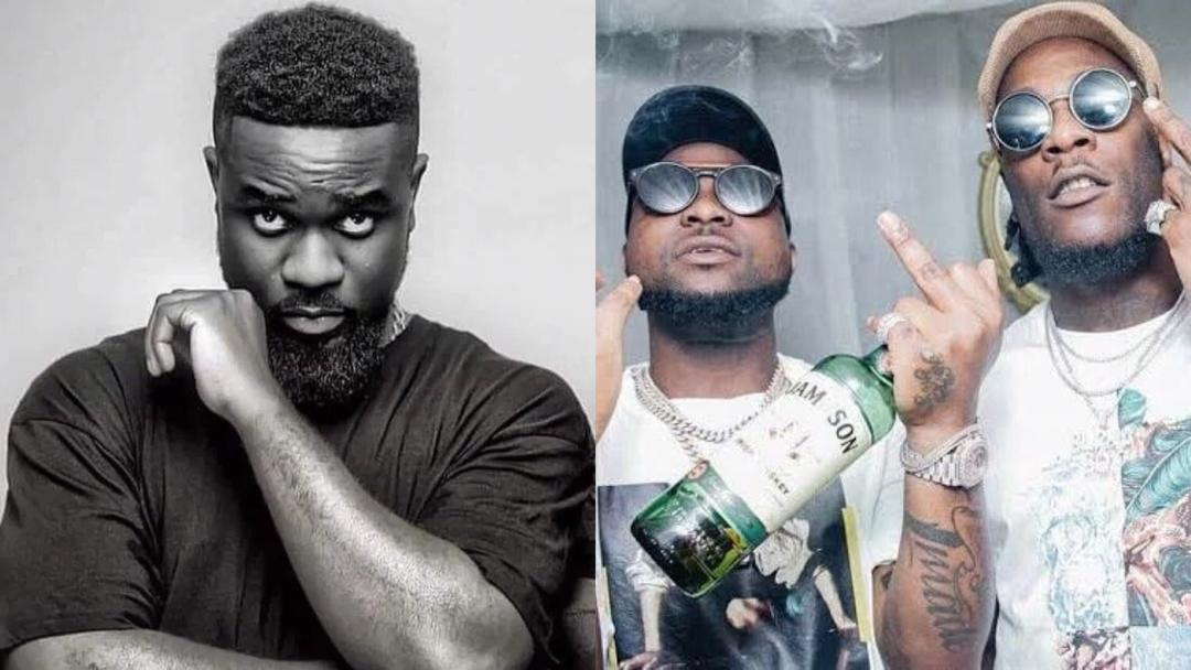 Sarkodie reacts to Burna Boy and Davido's scuffle in Ghana; sends clear message to all